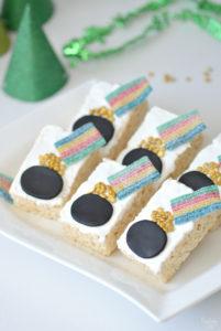 Easy St. Patrick's Day Dessert with Rice Krispie Treats