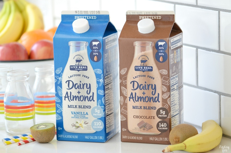 Live Real Farms Dairy Almond Milk Chocolate and Vanilla Varieties