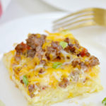 Sausage Hash Brown Casserole Recipe