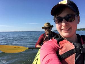 Tandmen Kayaking as a couples getaway in Bayfield Wisconsin