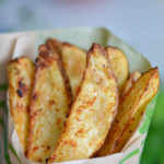 Crispy Air Fryer Potato Wedges