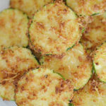 Air Fryer Zucchini Chips with Parmesan