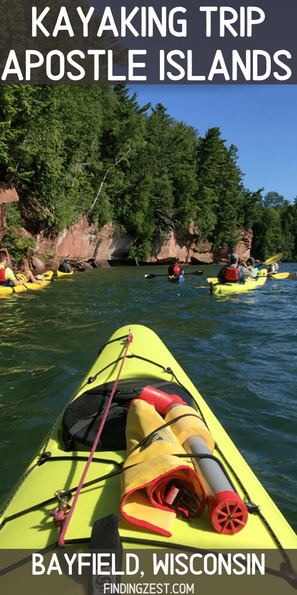 Our kayaking trip to Bayfield, Wisconsin was an experience! We visited the Apostle Islands Sea Caves and saw the Fedora shipwreck. This was a great couple's getaway!