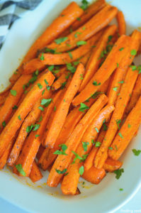 How to make roasted carrots in the air fryer