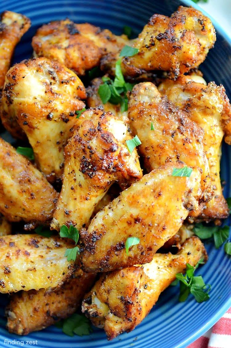 Lemon Pepper Wings that are easy and crispy!