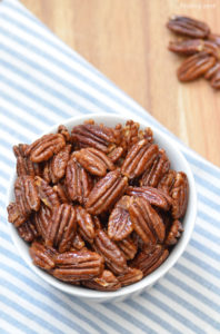 Love nuts? Give these Honey Roasted Pecans a try for a new and tasty snack! Perfect for munching on any time you need something crunchy to tide you over. Minimal ingredients are needed for this oven recipe.