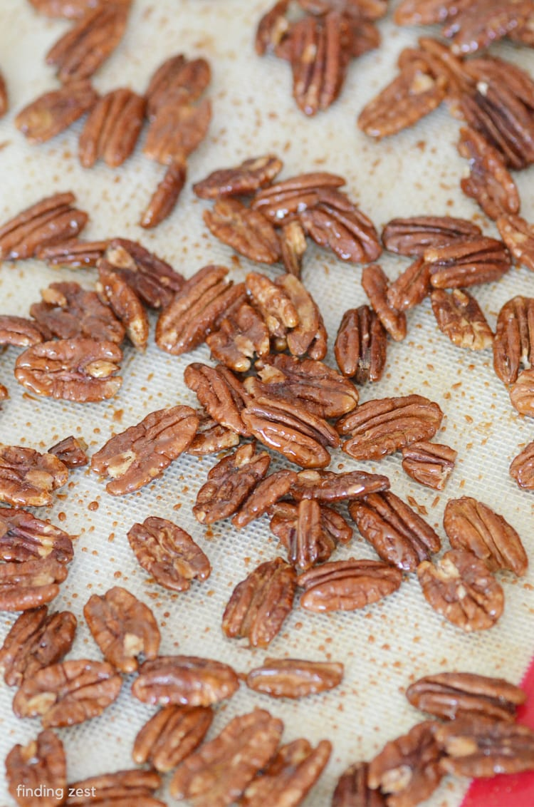How to roast nuts in the oven