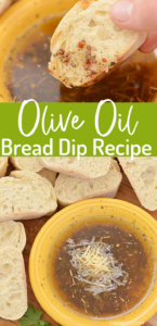 Olive Oil Bread Dip is the perfect appetizer or side dish to enjoy with your favorite pasta! Using basic ingredients from your pantry, this simple recipe is easy to whip up any time. Serve with your favorite crusty bread!