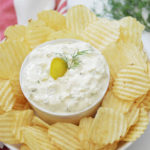 Dill Pickle Dip with Cream Cheese
