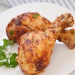 Air Fryer Chicken Legs with Dry Rub